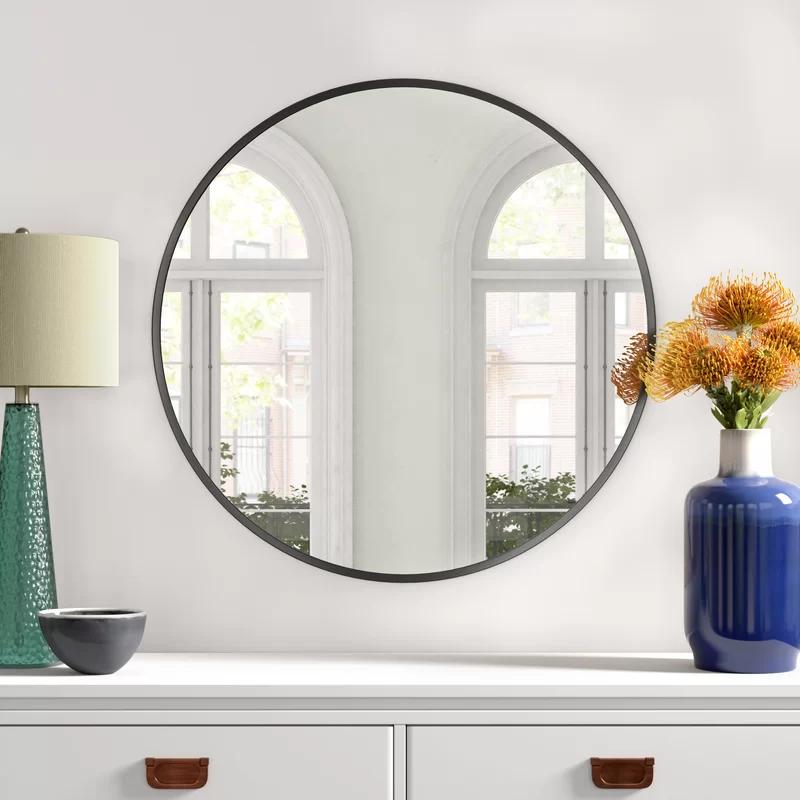 Beatrix Modern Contemporary Accent Mirror Reviews Joss Main Accent Mirrors Contemporary Accents Single Bathroom Vanity