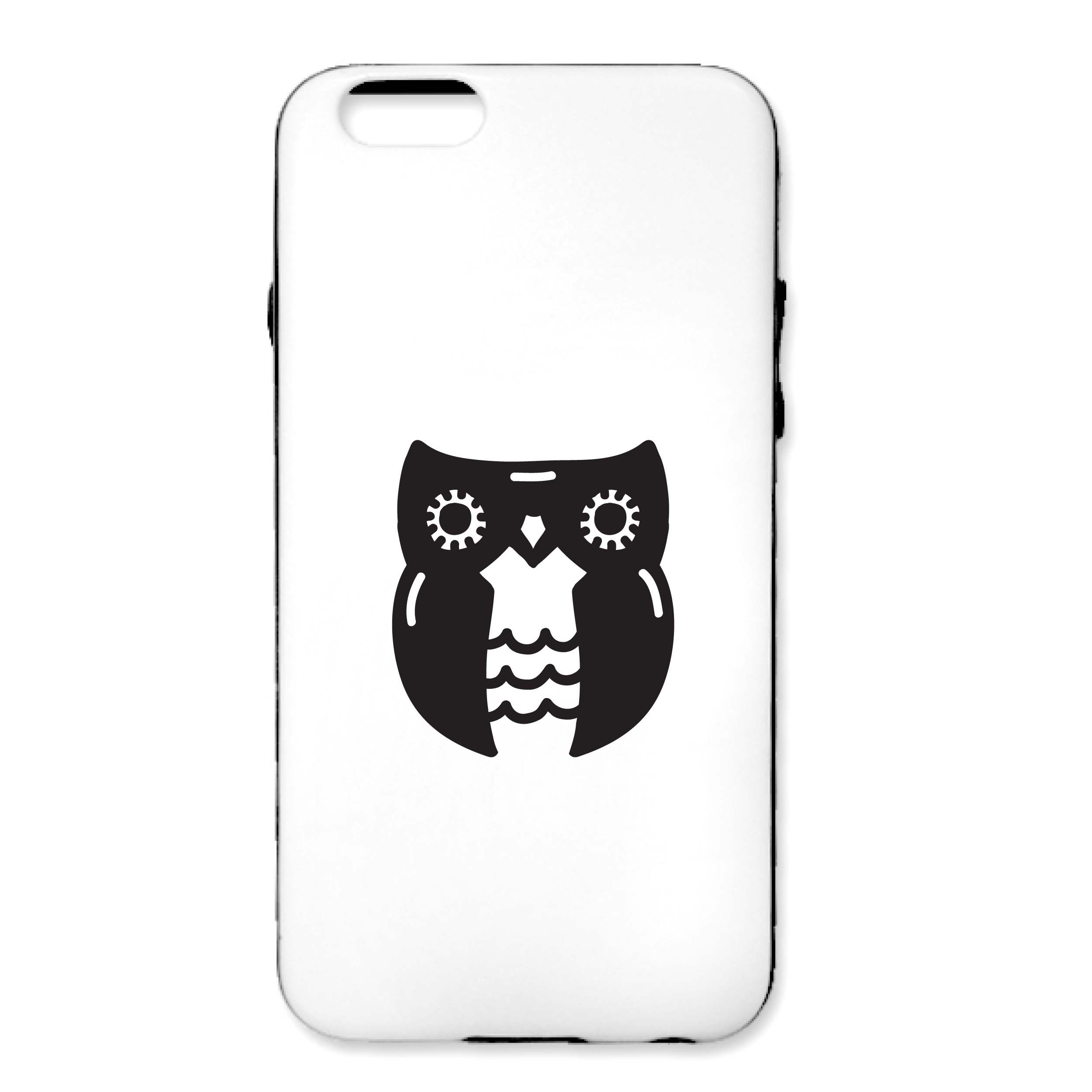 Adorable Owl Cell Phone Decal