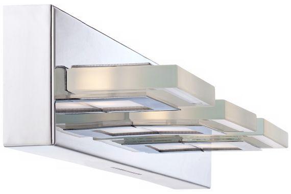 Possini Euro Emilio LED Chrome Bath Light
