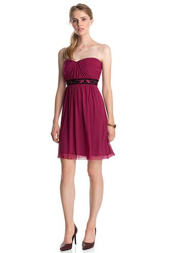 42a0e59f61b2b Esprit / Corsagen-Kleid mit Schmucksteinen | Kleider | Kleider ...