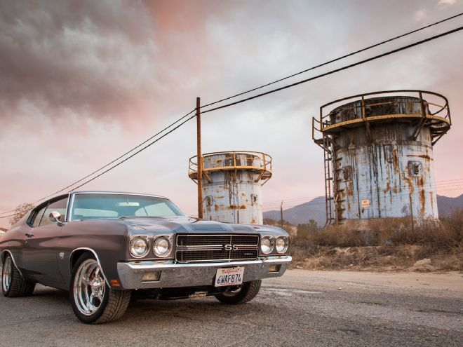 Hod Rod and Muscle cars: Big-Block Powered 1970 Chevrolet Chevelle SS
