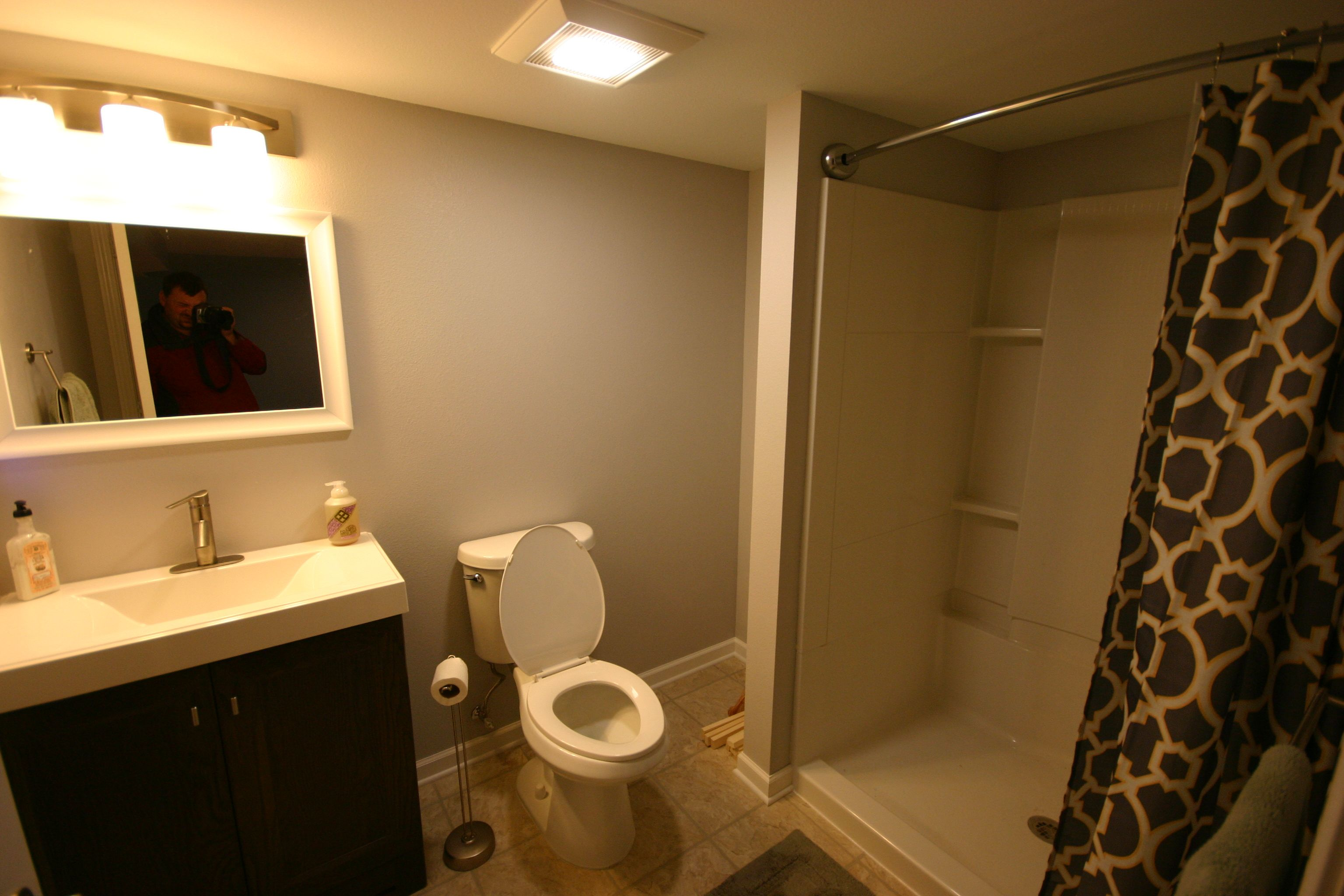 Basement Finish Basement Bedroomdrywall Soffits Basement Carpet - Basement bedroom egress