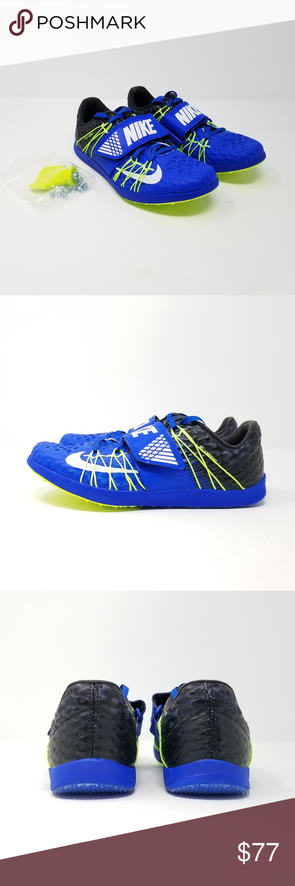 330927ed692b Nike Men s Zoom TJ Triple Jump Elite Track Spikes Nike Men s Zoom TJ Triple  Jump Elite Track Spikes Style Number  705394-413 Color  Blue Volt Tool and  ...
