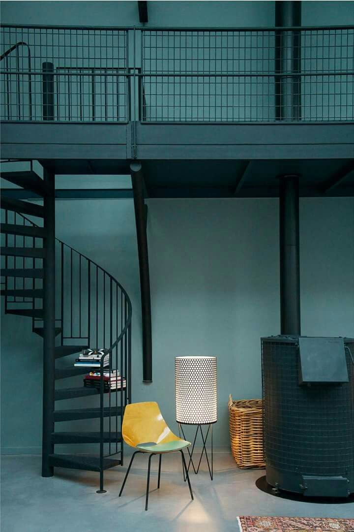 turbulences d co mothership mothership pinterest interiors stairways and warehouse design. Black Bedroom Furniture Sets. Home Design Ideas