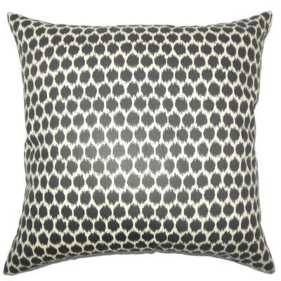 The Pillow Collection Dallin Ikat Bedding Sham Size: Standard