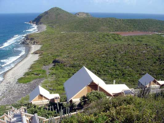 Set on the island of Saint John in the US Virgin Island these eco-tents are perched like tree houses along the hillside. & Concordia Eco-Villas u2014 St John US Virgin Islands | Eco-Lodges ...