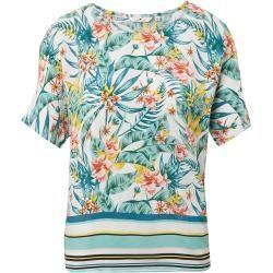 Photo of Blusa feminina Tom Tailor em mistura padrão, branca, estampada, tamanho 34 Tom TailorTom Tailor