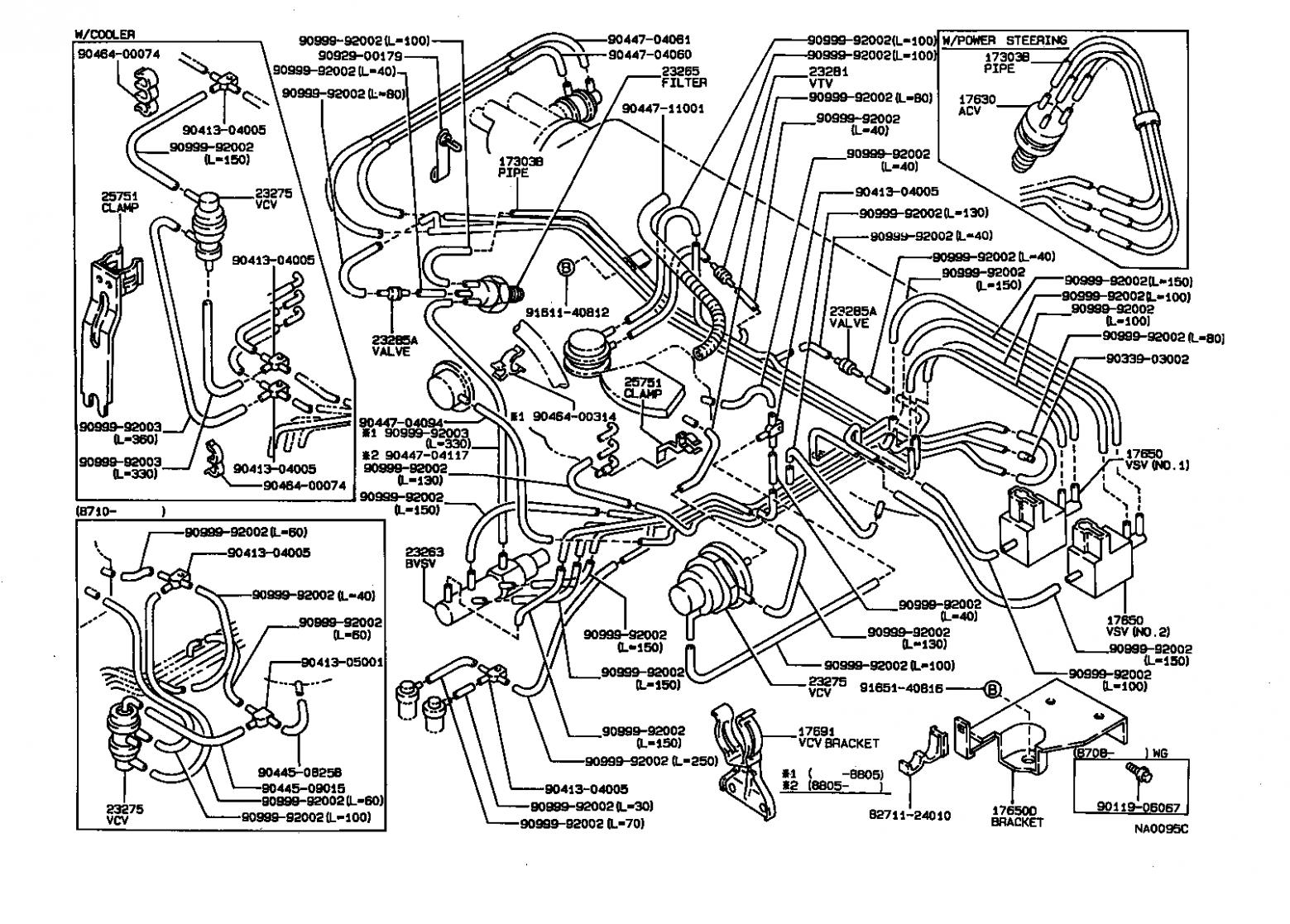 Toyota Corolla 7e Engine Vacuum Diagram Toyota Corolla 7e ...