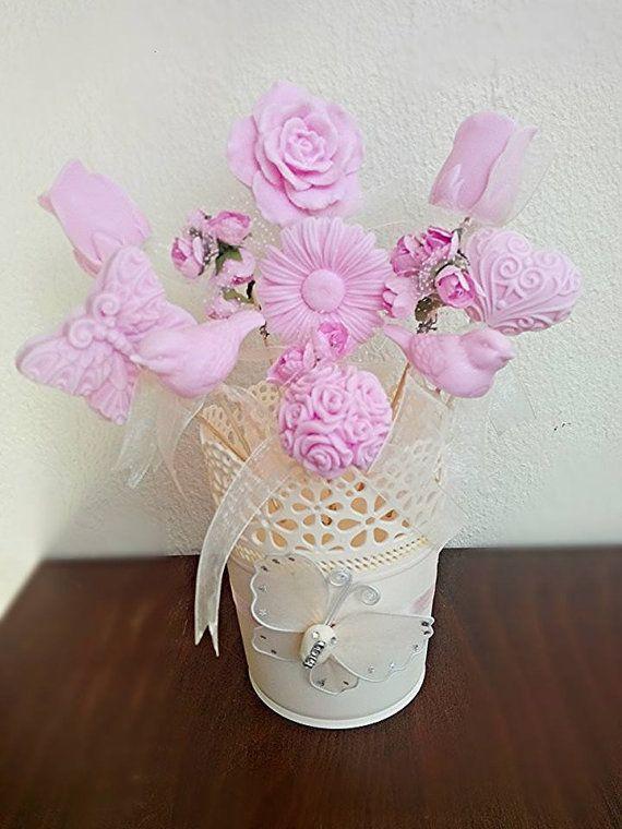 Handmade flower \'\'Soaps Bouquet\'\' for gift by bidesign on Etsy ...
