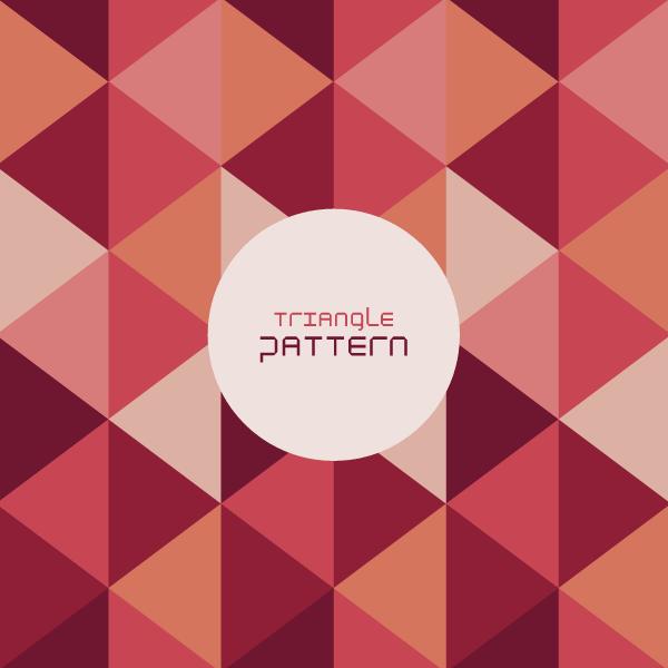 Triangle Pattern Background Vector Illustrator Web Design