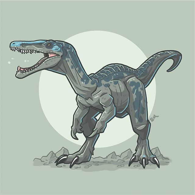 It's Day Eight Of #jurassicjune! Today I've Illustrated