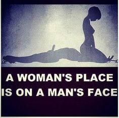 Women sitting on a mans face