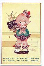 """Beatrice Mallet """"Ye told me tae stay in toon.."""" Little boy in kilt etc postcard"""
