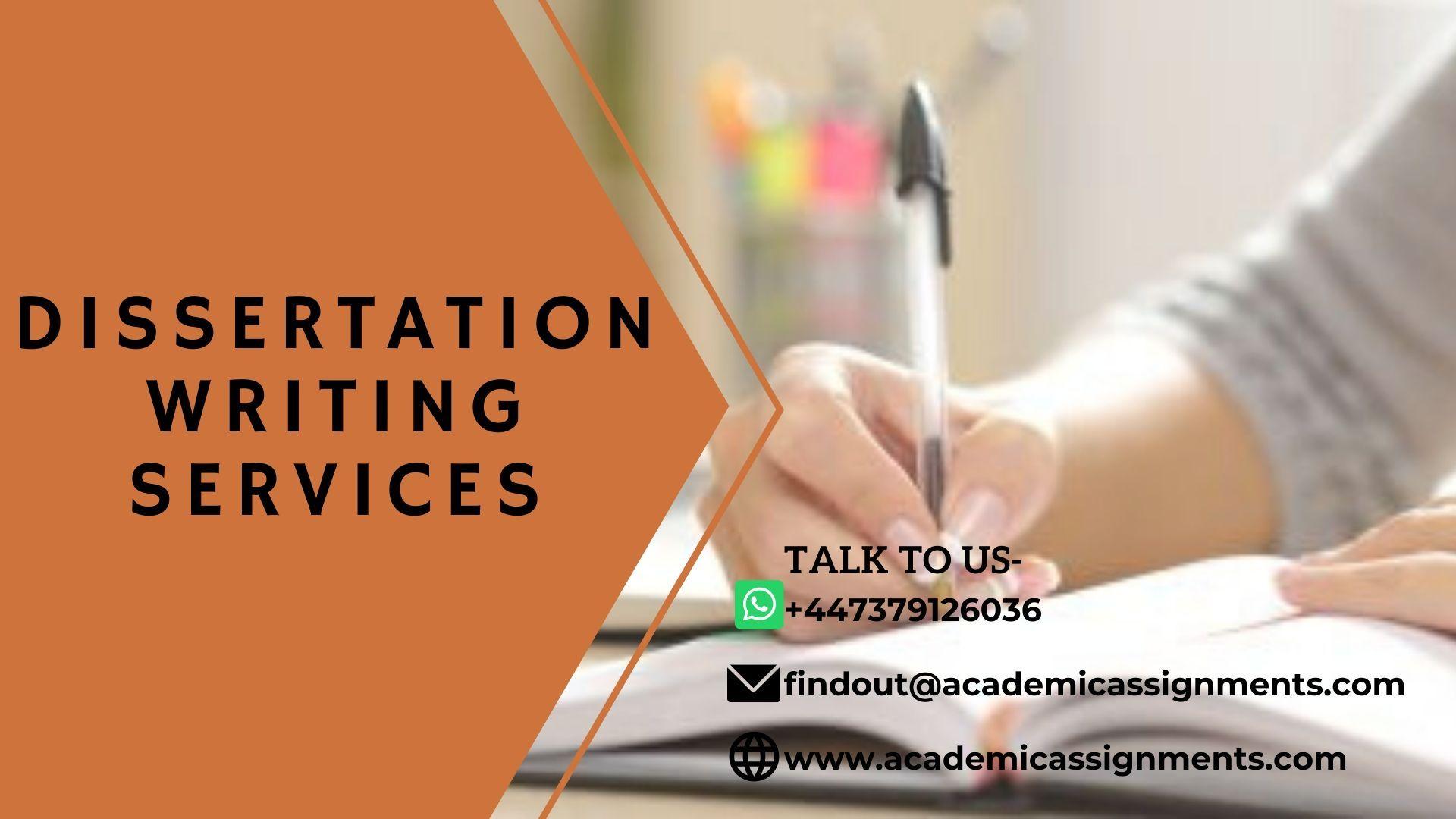 Dissertation Writing Services in 2020 Dissertation