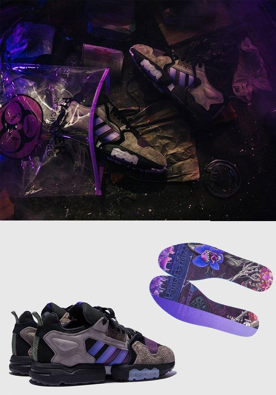 "Der Beitrag Packer x adidas consortium ""Mega Violet"