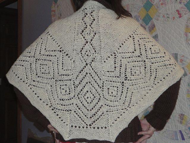 Faroese shawl by meg swansen   Faroese wool knit   Pinterest   Shawl ...
