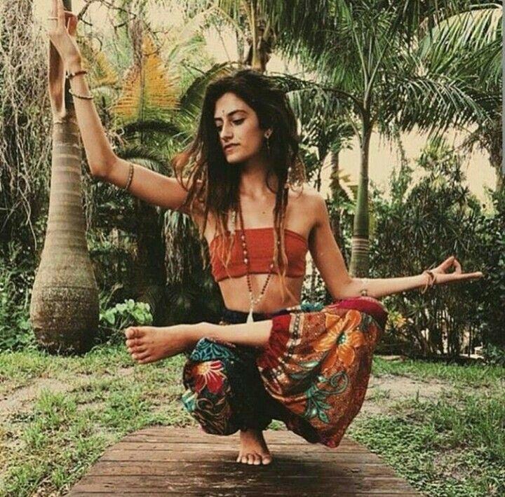 Yoga p pose