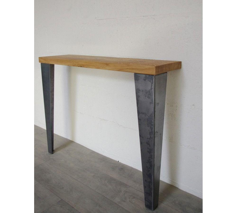 Pied Pour Table De Repas Bureau Console Style Industriel