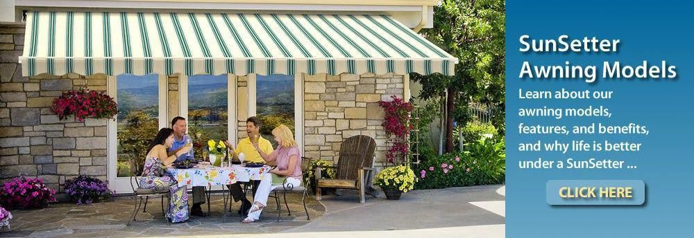 Learn about our SunSetter Awning Models   Building a deck ...