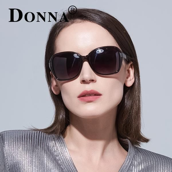 14683e24d4 DONNA Square Sunglasses Woman Oversize Shades Brand Designer Sun Glasses  Vintage Retro Unique Fashion Eyeglasses D181