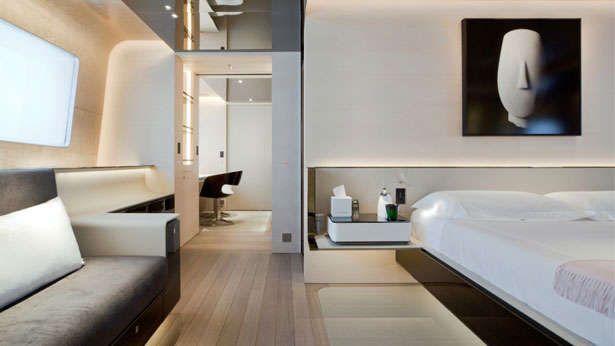 master bedroom, aslec 4 yacht by remi tessier _   guest room, Innenarchitektur ideen