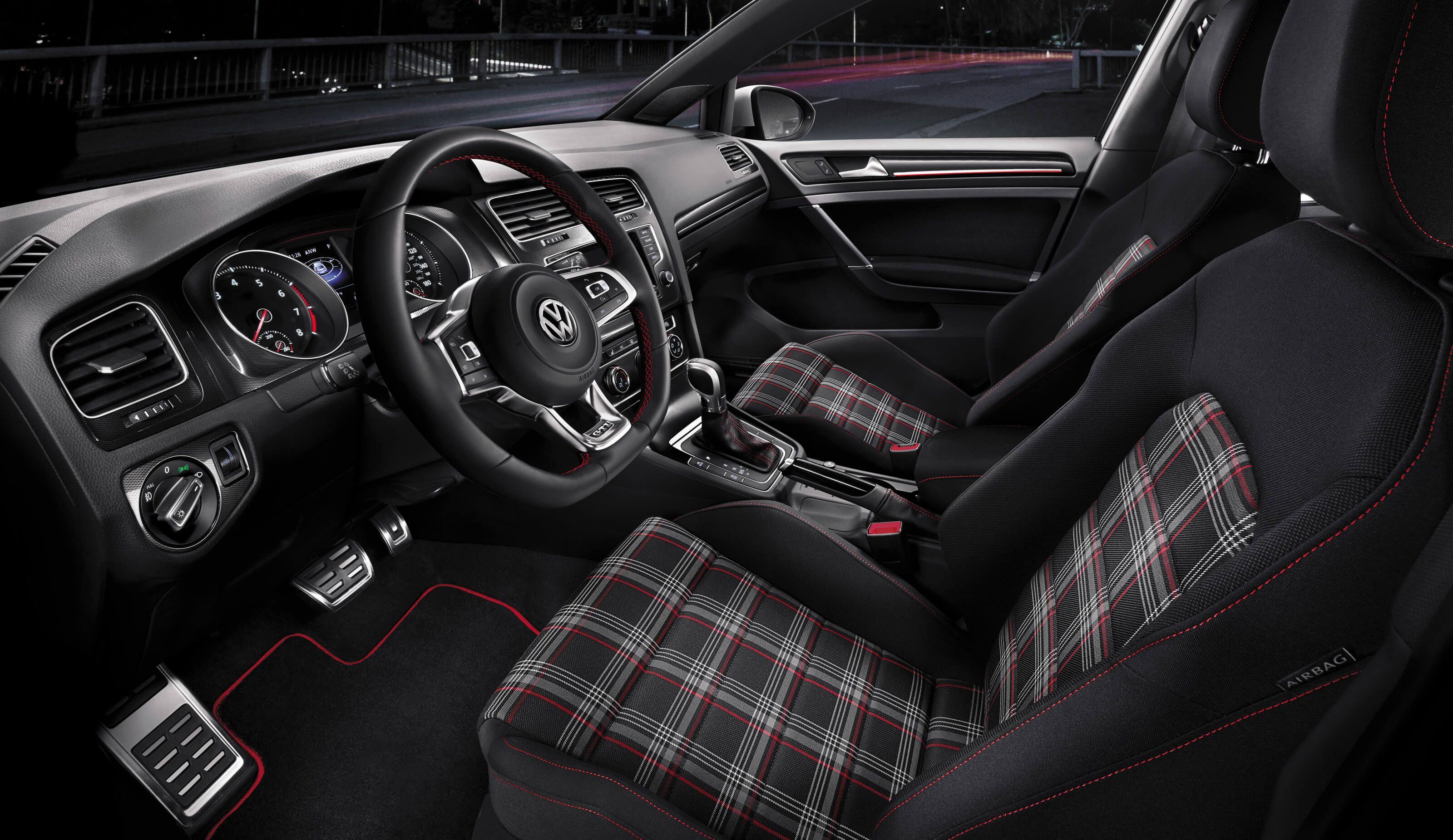2017 VW Golf GTI - Performance Hot Hatch | Volkswagen | Automobile ... | {Auto cockpit vw 35}