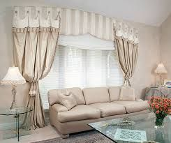 drapes with fringe at the top