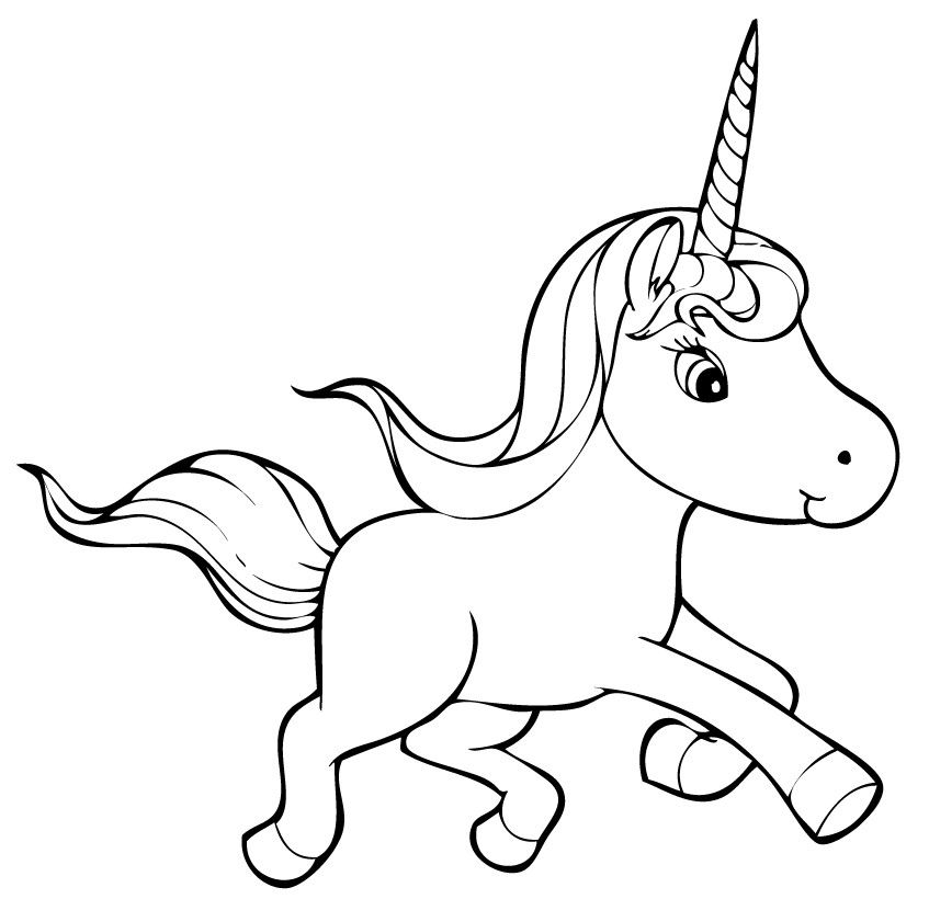 Unicorn Coloring Pages Unicorn Coloring Pages Star Coloring