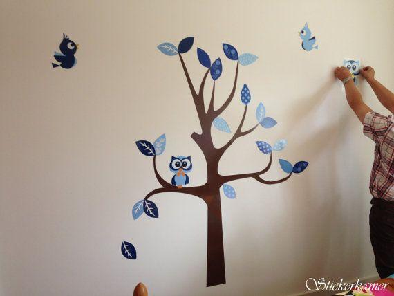 Wanddecoratie Babykamer Boom.Muursticker Kinderkamer Boom Tips Voor Wanddecoratie In De