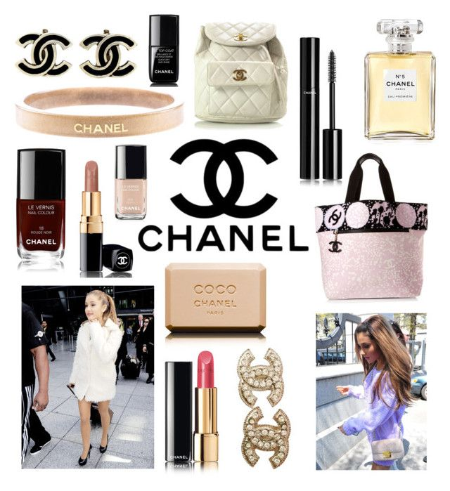"""""""{chanel}"""" by miekex ❤ liked on Polyvore featuring Chanel, women's clothing, women's fashion, women, female, woman, misses and juniors"""