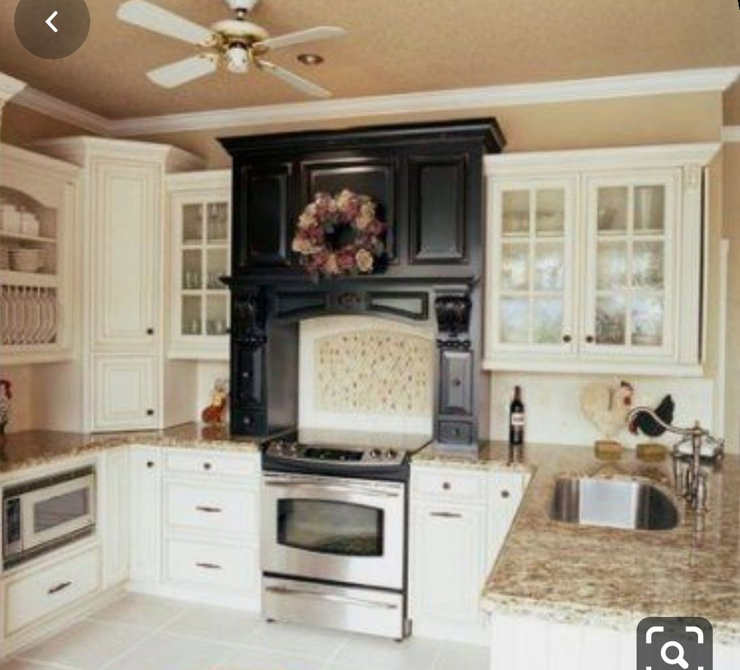Kitchen Pallet In 2020 Tan Kitchen Walls Eclectic Kitchen Kitchen Cabinets