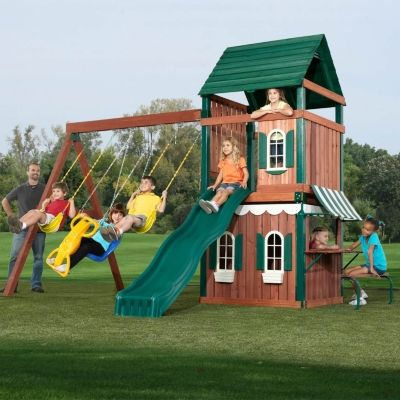 swing n slide,slides,playgrounds,outdoor play equipment,outdoor playsets,climbing toys,toys,childrens games,outdoor Play Equipment,swing Sets