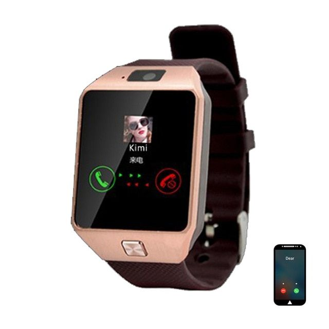 c269a1e6115 DZ09  Smart  Watch Android  Bluetooth  Smartwatch Phone Call Relogio Camera  Sim Card Smart Watches Men Women Sport 3  Wearable Device