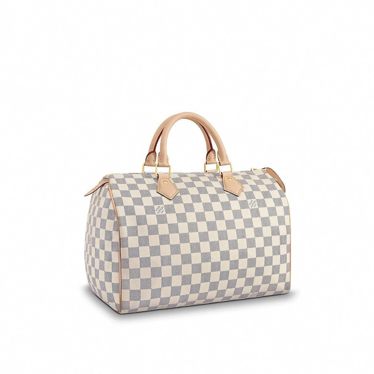 6665620c56 View 1 - Damier Azur Canvas HANDBAGS Top Handles Speedy 30