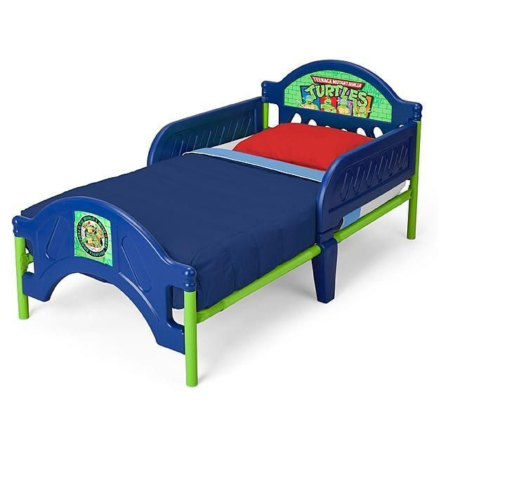 nickelodeon ninja turtles toddler bed frame crib bed mattress not included nickelodeon 125 http