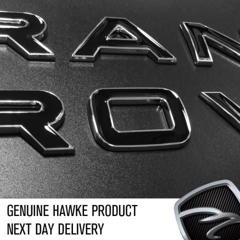 NEW DISCOVERY 4 LAND ROVER CHROME Lettering Rear Trunk Badge DISCOVERY 4 CH 1