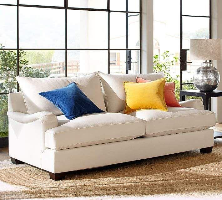 Pottery Barn Pb English Arm Upholstered Sofa