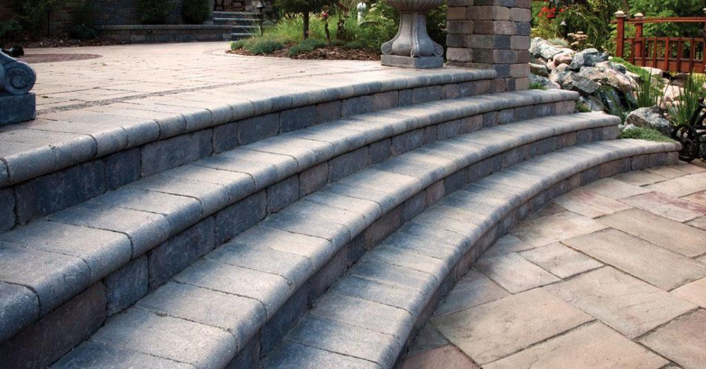 ... Landscaping Supply, Inc www.daleslandscaping.com Roseville, MI  586-778-1919 #poolcoping #unilock #michigan #landscaping #landscape #coping  #smooth - Unilock Brussels Fullnose Coping Available For Special Order