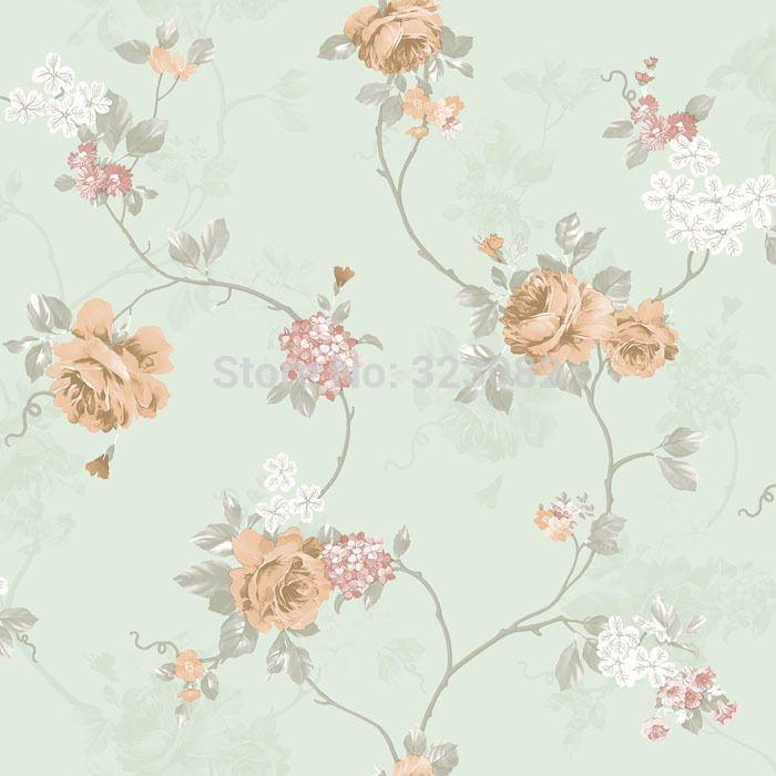 Home Decoration Classic Victoria Pvc Wallpaper Roll For