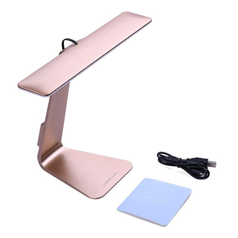 새로운 패션 눈 보호 휴대용 책상 램프 초박형 28 LED, 3 레벨 테이블 램프 밝기 밤 빛 맥 스타일