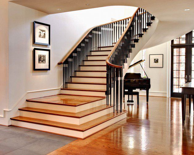 16 Elegant Traditional Staircase Designs That Will Amaze You Stair Railing Design Modern Stairs Stairs Design