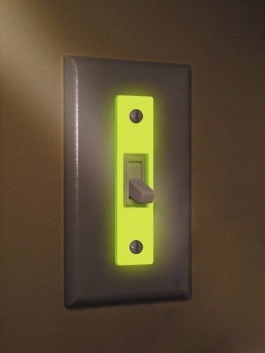 Find a light glow in the dark wall plate inserts 3 pack by reflect find a light glow in the dark wall plate inserts 3 pack by mozeypictures Gallery