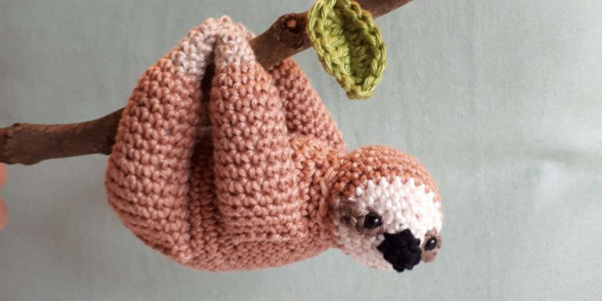 Sloth crochet pattern | Amigurumi | Pinterest | Gehäkelte tiere ...