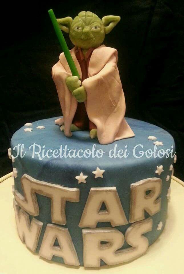 Star Wars Yoda Cake My Creation Pinterest