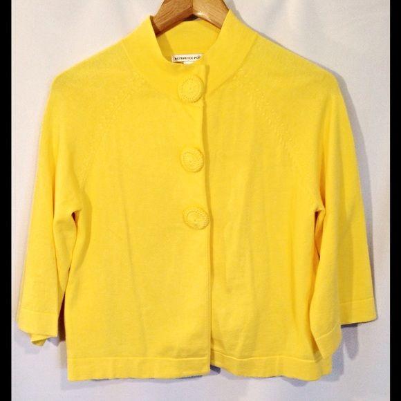 Yellow Spring Sweater Cardigan Gorgeous yellow sweater cardigan ...