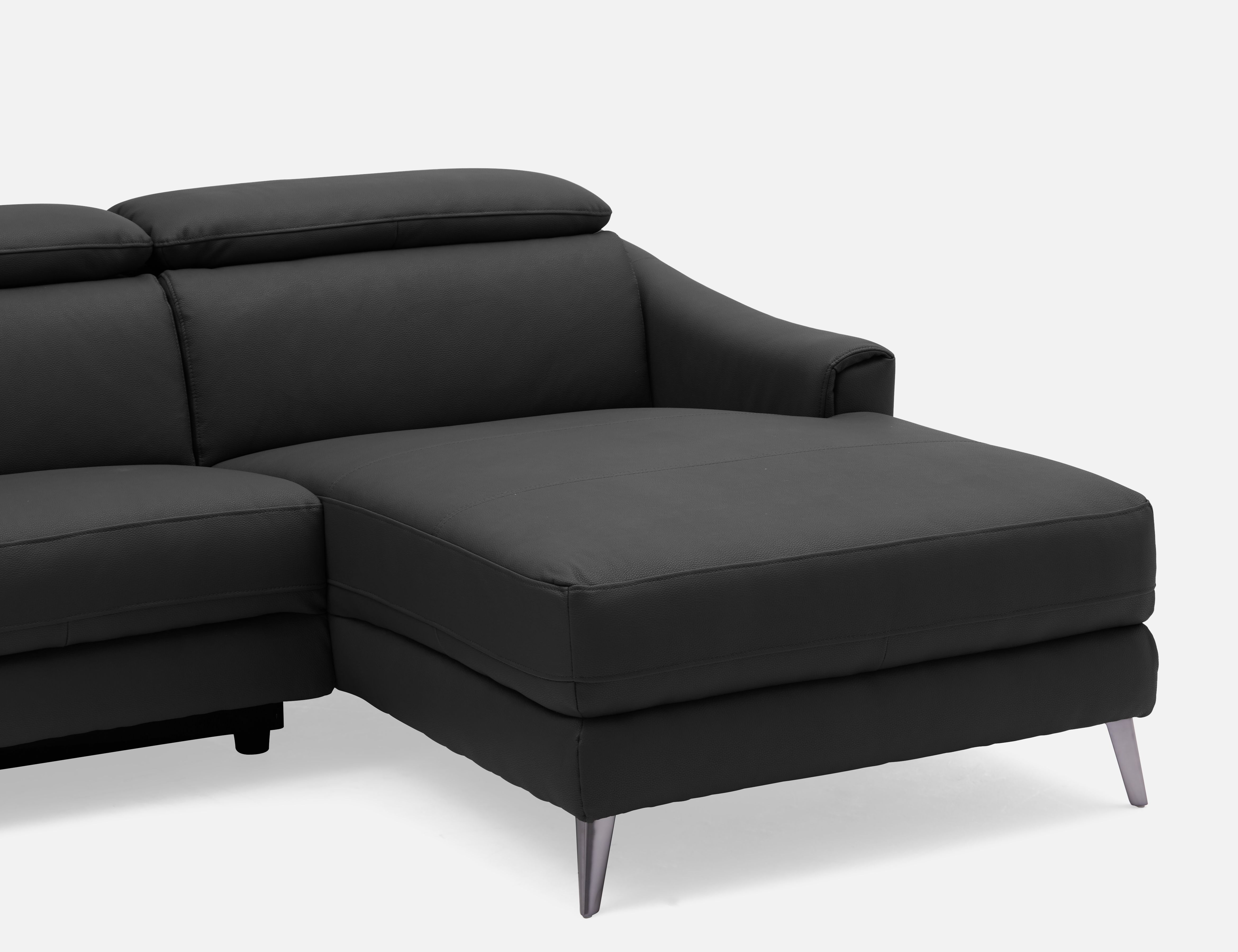 Reclining Lamont Right Facing 2019 Sectional Black SofaStruc In orxCdBeW
