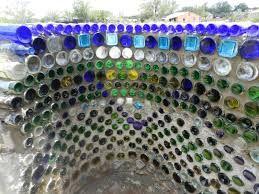 Image Result For Concrete Garden Wall Art Bottles Bottle Wall Wine Bottle Wall Recycled Glass Bottles