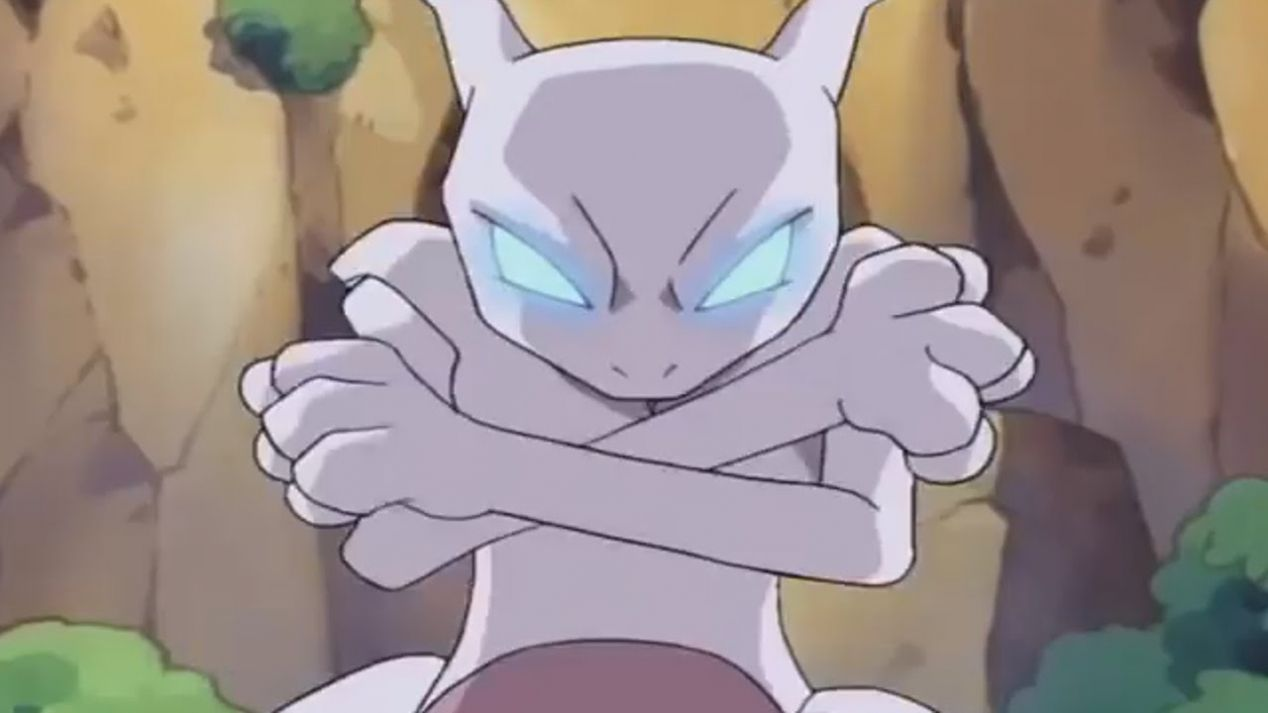 Pokemon Mewtwo Returns 2000 In This Direct To Video Sequel To Pokemon The First Movie Ash Misty And Brock Continue Explori Mewtwo Pokemon Pokemon Mewtwo