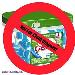 Why you should never use dishwasher detergents on your cloth diapers!
