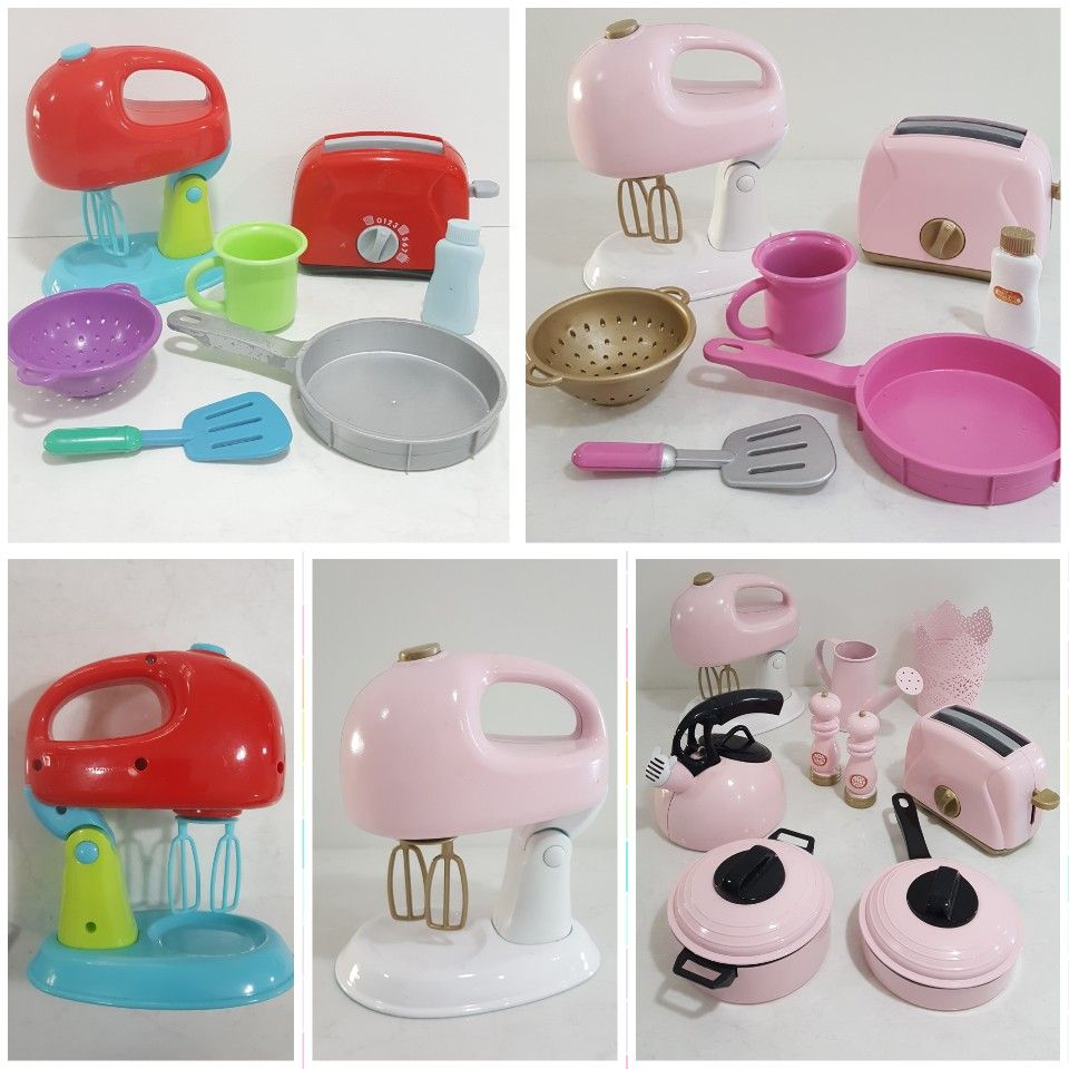 Before Amp After Pretty Pink Toy Appliances Amp Utensils To